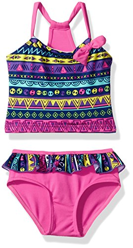 Pink Platinum Girls Infant Swimsuit