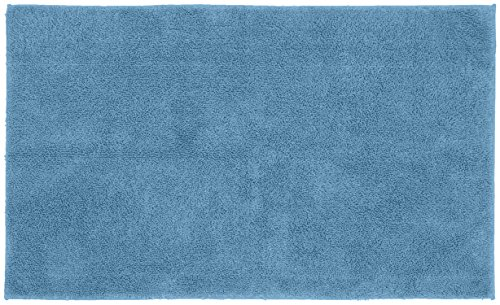 Sky Blue Rug - Garland Rug Queen Cotton Washable Rug, 30-Inch by 50-Inch, Sky Blue