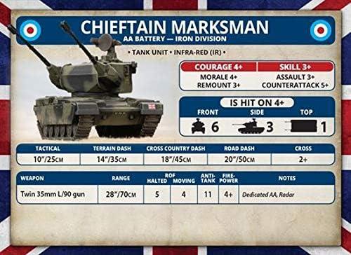 British Chieftain Marksman AA Battery WWIII Team Yankee TBBX14 x3