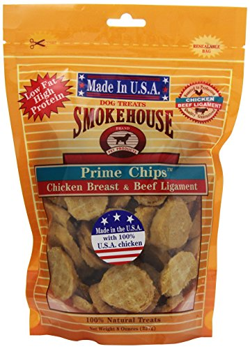 Smokehouse 100-Percent Natural Prime Chips Dog Treats
