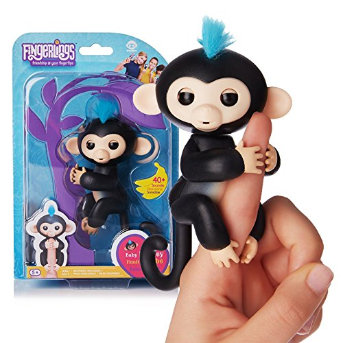 1 Piece Fingerlings Interactive Baby Monkey Children 's t...