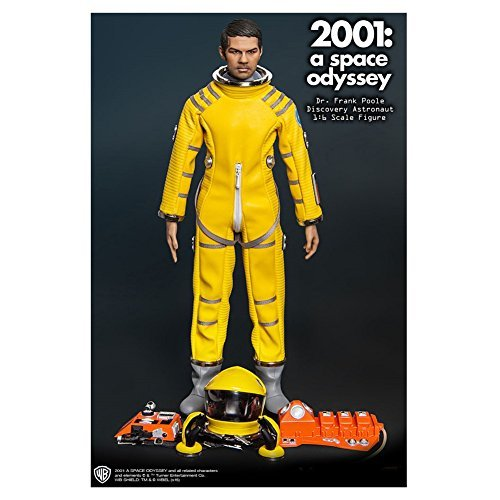 Dr. Frank Poole 2001: A Space Odyssey Discovery Astronaut Collectible Figure by PHICEN