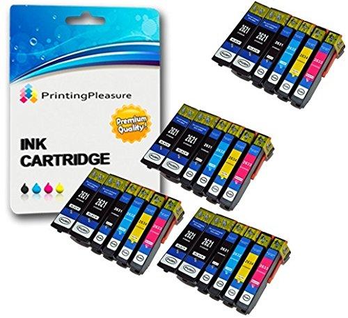 53 opinioni per 24 Compatibili Epson 26XL Cartucce d'inchiostro per Epson Expression Premium