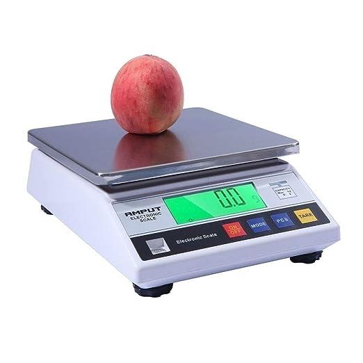 ZCXBHD Básculas pesaje Alimentos 0.1 g Conteo precisión con ...