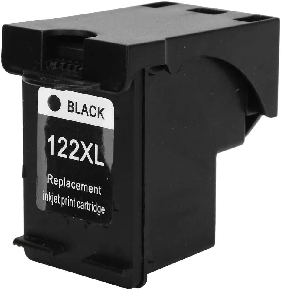 Ink Cartridges Replacement Fillable Printer Accessories 122/122XL Ink Cartridges for HP Deskjet 1000 1050 2000 2050 2510(Black)