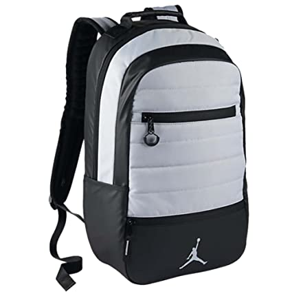 604bd0cbed0fcd Amazon.com  NIKE AIR JORDAN AIRBORNE BACKPACK (Wolf Grey)  Computers    Accessories