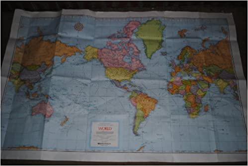 Rand mcnally world cosmopolitan series wall map cosmopolitan map rand mcnally world cosmopolitan series wall map cosmopolitan map rand mcnally and company 9780528836312 amazon books gumiabroncs Choice Image