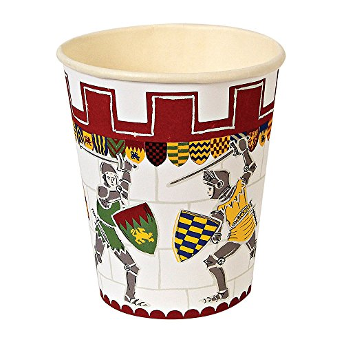 - Meri Meri Party Cups, Knights, 12-Cups