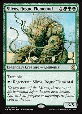 Magic: the Gathering - Silvos, Rogue Elemental (186/249) - Eternal Masters (Best Big Green Creatures Mtg)