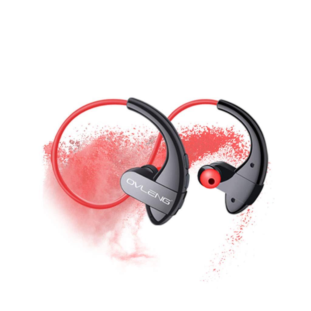 HCDjgh Bluetooth Earphones with Microphone Magnetic, Bluetooth Headphone Waterproof Wireless Sport HiFi Bass Stereo♫