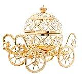 Matashi 24K Gold Plated Crystal Studded Large