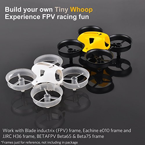 Crazepony-2pcs-65mm-Tiny-Whoop-Frame-and-2pcs-Battery-Foam-for-Mini-Drone-Micro-Quadcopter-Compatitble-with-716mm-Motor