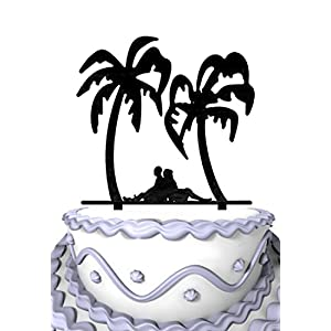 51tFWEd99tL._SS300_ Beach Wedding Cake Toppers & Nautical Cake Toppers