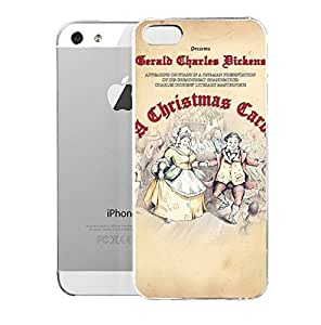 iPhone 5S Case AChristmosCarel Xmas Stuff For U0026gt AChristmosCarel By Charles Dickens Characters Ghost Stories Hard Plastic Cover for iPhone 5 Case
