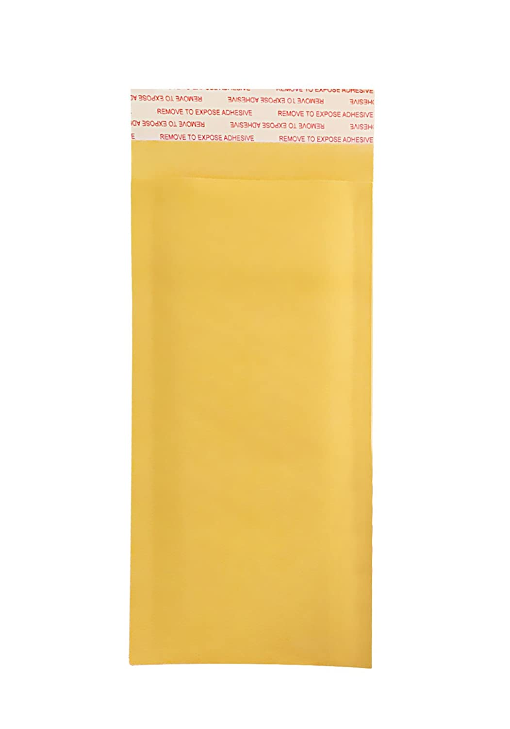 Eco-Friendly Bubble Mailer Shipping Envelopes with Self Adhesive Strip HAI-RAAN 000 Kraft Bubble Mailers 4x8 50 Pack Golden Self-Seal Padded Envelopes