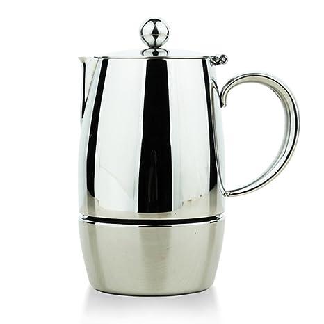 Cafetera Acero inoxidable Capacidad de 3 tazas Capacidad de 6 tazas Mocha Ollas Una olla de