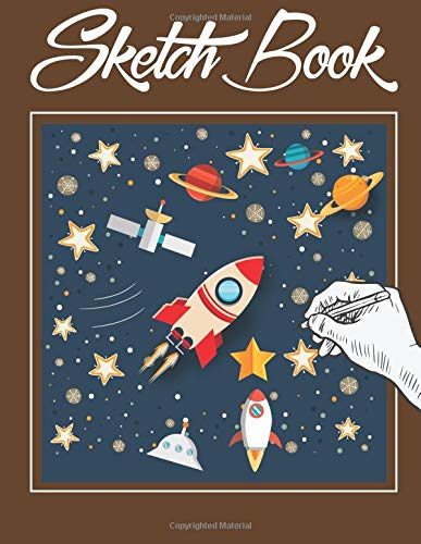 Read Online Sketch Book: Blank Paper Sketchbook for Drawing Doodling or Sketching Practice How To Draw Workbook, 8.5 x 11 Large Draw and Paint  Edition (Sketchbook For Kids) PDF
