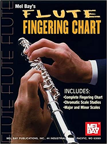 Amazon.Com: Mel Bay Flute Fingering Chart (9780871665027): William