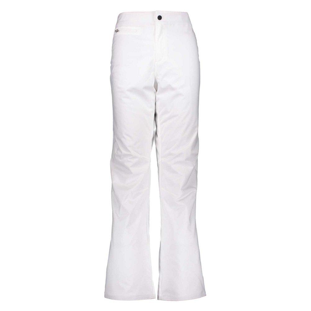 Obermeyer Sugarbush Stretch Long Womens Ski Pants - 12 Long/White