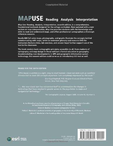 Map Use: Reading, Analysis, Interpretation, Seventh Edition