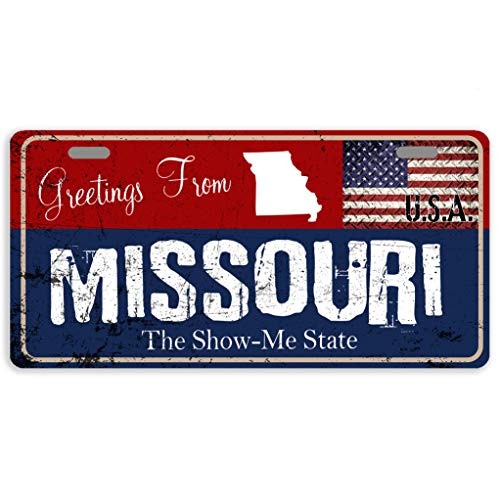 Eprocase License Plate Cover Missouri State License Plate