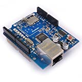 Kuman K15 Ethernet Shield W5100 Micro-sd Card Slot for Arduino 2009 UNO Mega 1280 Mega 2560 Nano Duemilanove