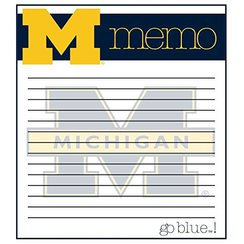 The Fanatic Group Michigan Wolverines Memo Note Pad - 2 Pads