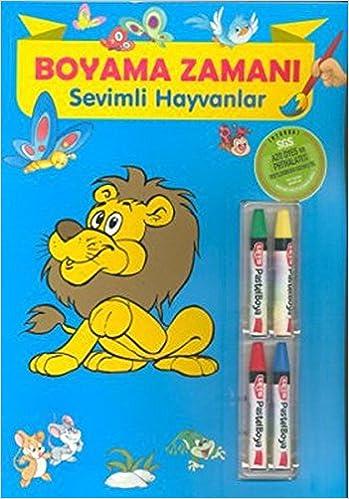 Boyama Zamani Sevimli Hayvanlar Ahmet Altay Fatih Okta Ragip