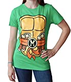 Teenage Mutant Ninja Turtles Juniors Michaelangelo Costume T-Shirt L
