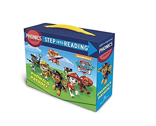 Chase Watch Box - Paw Patrol 12 in a Box 12 Book Set Learn to Read Phonics Age 3 - 7 Years