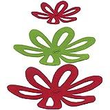 Protetor de Panela 3pçs Prana Vermelho/Verde/Amarelo