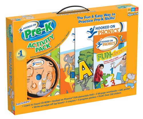 Hooked on Pre-K Activity Pack: Hooked on Phonics: 9781601438119 ...