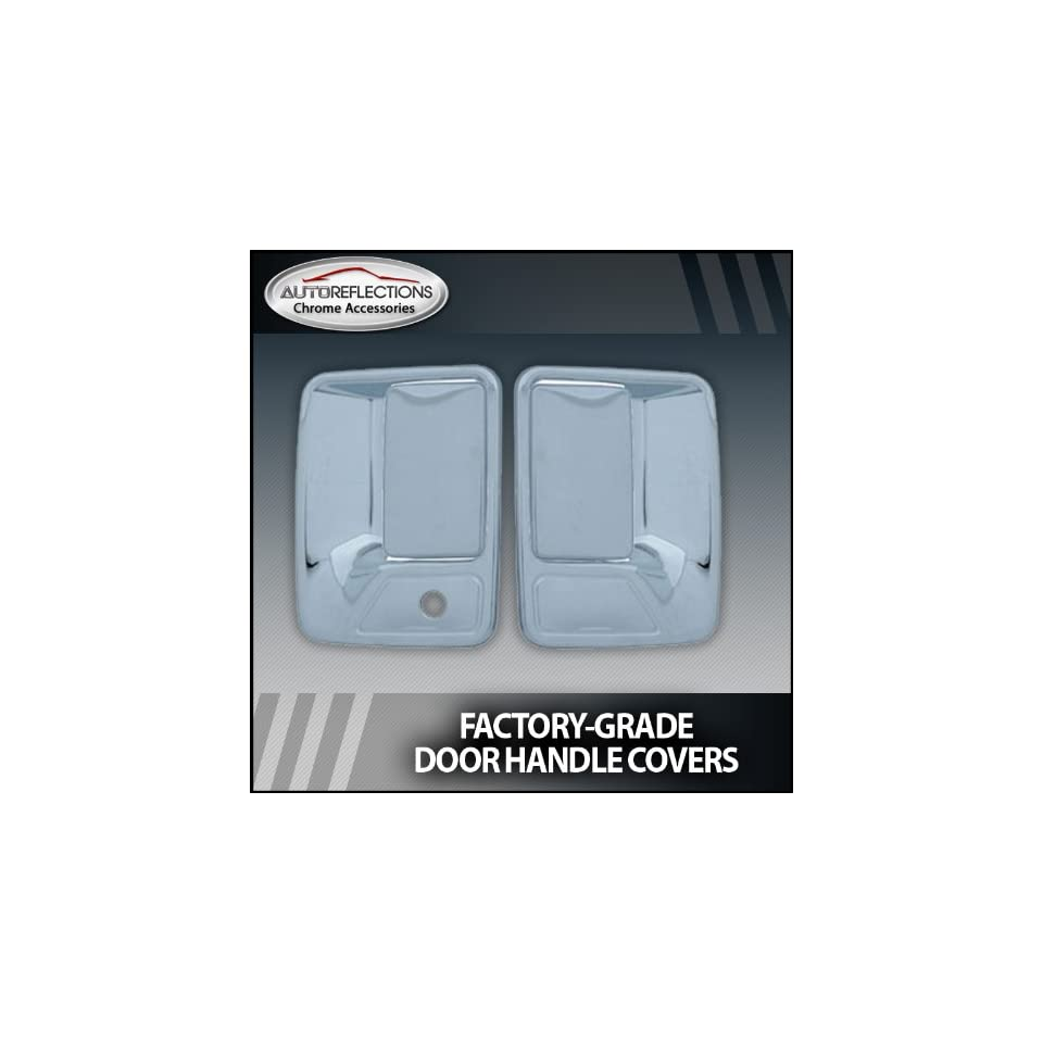 1999 2013 Ford F250/350 Superduty Chrome Door Handle Covers (2dr w/o passenger keyhole)