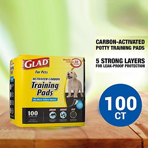 Glad para Mascotas de Carbón Activado Formación Almohadillas: Amazon.es: Productos para mascotas