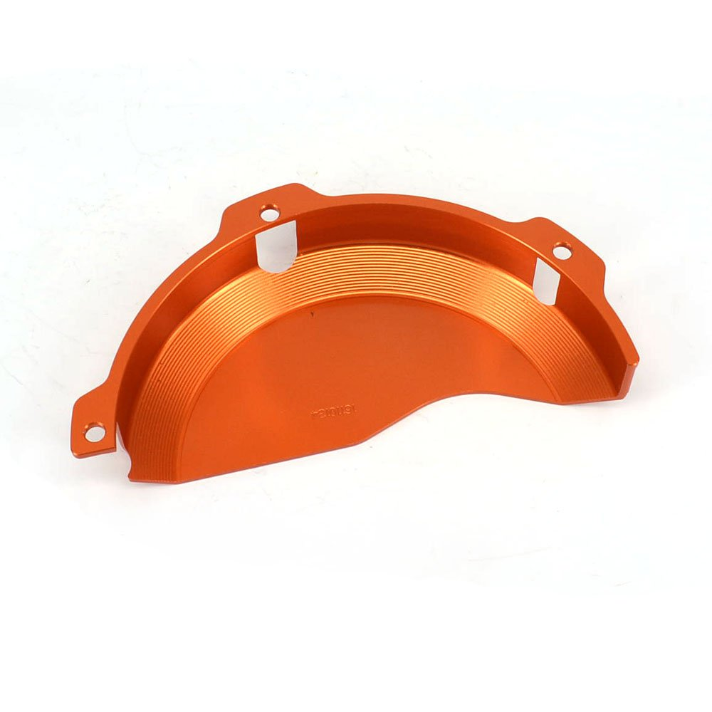 JFG RACING CNC Aluminum Billet Orange Engine Case Clutch Cover Guard Protector For KTM EXC 250 EXC 300 2009-2016 250SX 2009-2015 by JFG RACING (Image #3)