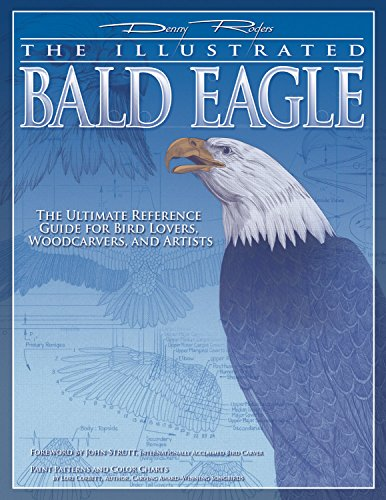 Illustrated Bald Eagle: The Ultimate Reference Guide for Bird Lovers, Woodcarvers, and Artists (Fox Chapel Publishing) Detailed Drawings & Measurements (Denny Rogers Visual (Illustrated Bald Eagle)
