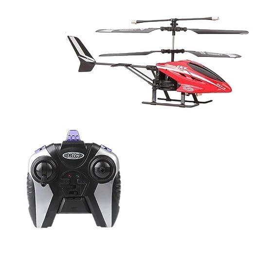 MECFIGH Helicóptero de Control Remoto Drones Juguetes con cámara ...