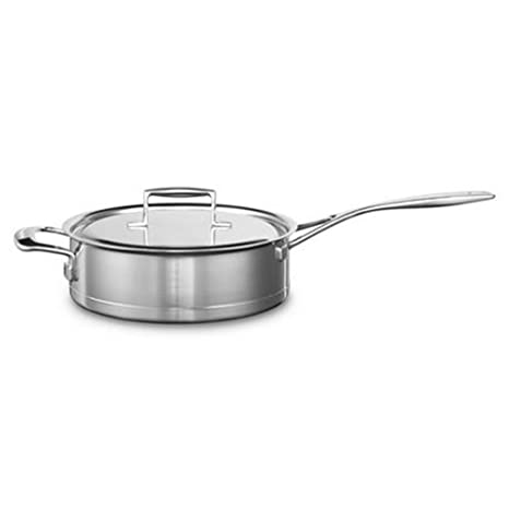 Kitchenaid kcc730hsst - Cazo (Acero Inoxidable, 24 x 24 x 6 cm ...