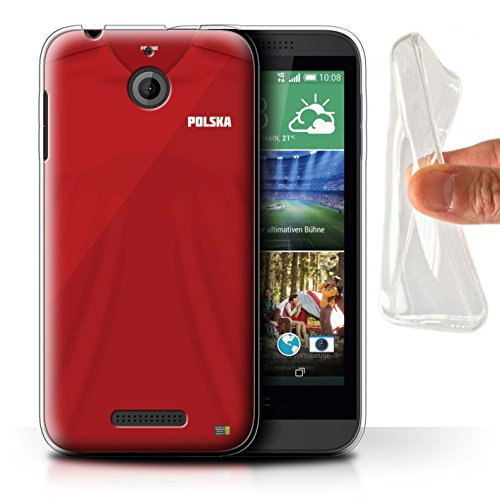 STUFF4 Gel TPU Phone Case/Cover for HTC Desire 510/Poland/Po