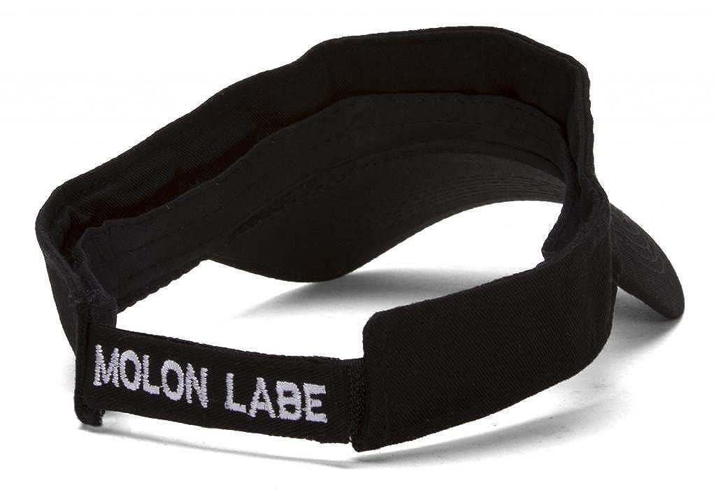 F/&U Molon Labe Come and Take It Black Adjustable Visor