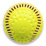 Baden Dimpled Softballs with Red Seam (One Dozen) 12''
