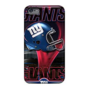 Shock Absorbent Hard Phone Cases For Apple Iphone 6 With Unique Design Fashion New York Giants Series LeoSwiech