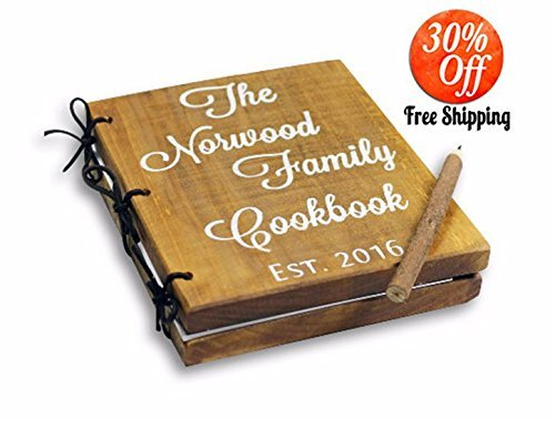 Amazon Com Recipe Book Recipe Binder Recipe Box Personalized Recipe