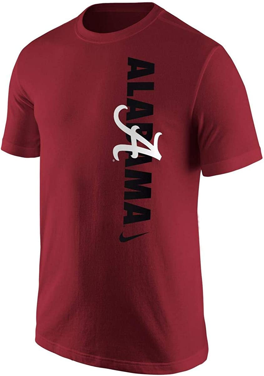 Nike Mens Alabama Crimson Tide Vertical T-Shirt