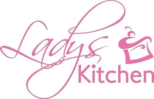 GRAZDesign 620537_50_045 Wandtattoo für Küche   Wand-Spruch Ladys ...