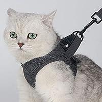 perlo33ER Gatos para Mascotas Ajustables Gatito Arnés Chaleco ...