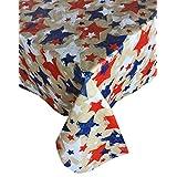 Barbacoa Impresión Interior/exterior franela Backed–Mantel de vinilo, 70