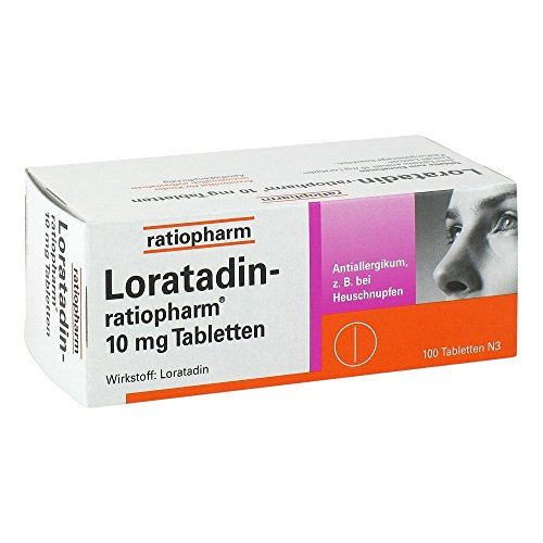 Loratadin Ratiopharm 10 Mg Tabletten 100 St