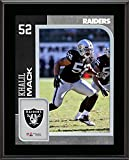 Khalil Mack Oakland Raiders 10.5'' x 13'' Sublimated Player Plaque - Fanatics Authentic Certified - NFL Player Plaques and Collages