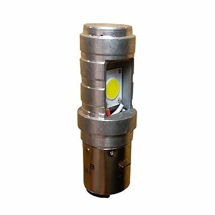 Amazon.com: LED Headlight Conversion Bulb S2 H6 H6M BA20D Motorcycle Headlight 14W 1600LM LED High Low Beam Motorbike Fog Light ATV (1pcs pack): Automotive
